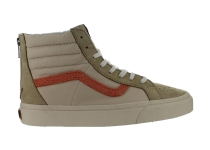 Mens Vans SK8-Hi Zip + Leather Nubuck Suede Starfish VN0004PCIFW