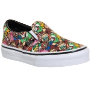Vans x Nintendo Men Classic-Slip On - Super Mario Brothers (black / multi)