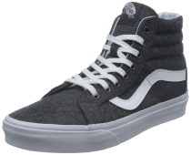 "Vans ""Varsity Sk8-Hi Reissue"" Sneakers (Charcoal/White) Men's High-Top Shoes"