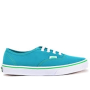 Vans Authentic Round Toe Canvas Skate Shoe Fanfare/Kelly Green
