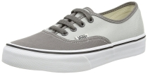 Vans Unisex Authentic Sneakers 2 Tone Pewter Gray Shoes
