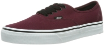Vans Mens Authentic Core Classic Sneakers Port Royale Red/Black