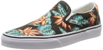 Vans Classic Slip-On unisex shoes Vintage Aloha Black/True White