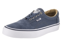 Vans Men's Rowley Solos Skate Shoe Indigo/White