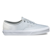 Vans Authentic 2 Tone Glitter White/High-Rise Skate Shoes