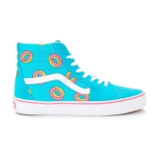 Vans SK8-HI (OF DONUT) Scuba Blue Skateboard Shoes Blue