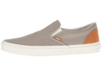 Vans Classic Slip-On (Leather Perf) Moon Rock